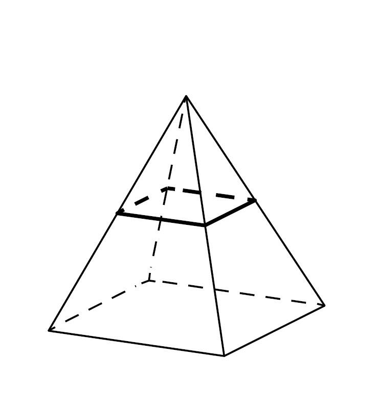 Картинки пирамид в геометрии