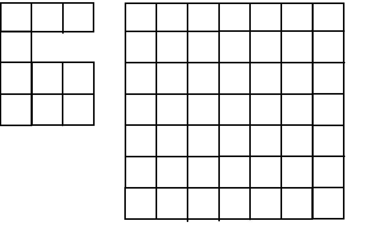 Квадраты из которых выдаётся рисунок кт называется