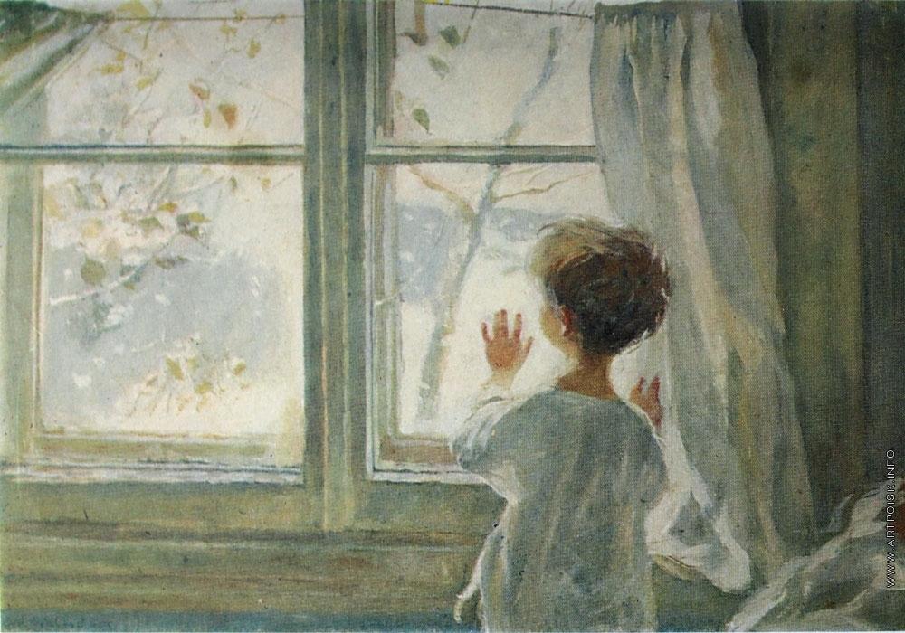 Картинка зима пришла детство