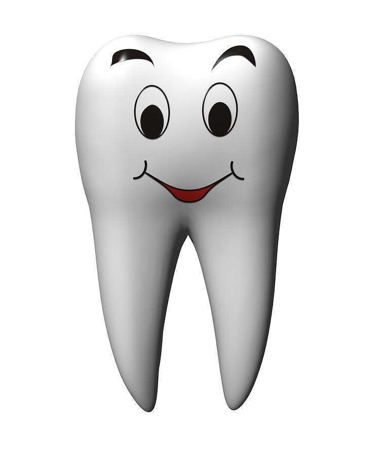 Поздравление, картинки с изображением веселого и грустного зуба