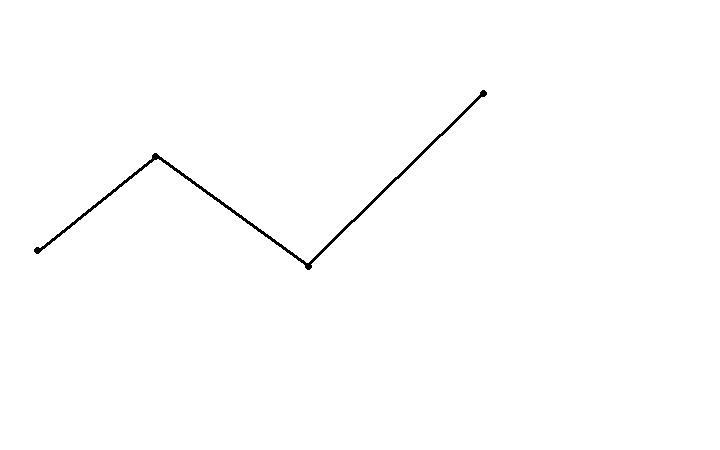 картинка ломаная из трех звеньев