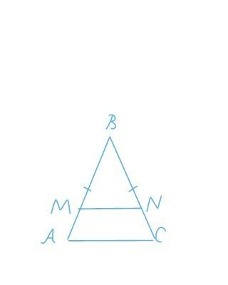 У рівнобедреному трикутнику АВС основа АС = 15см., сторона ...