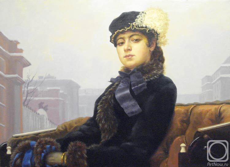 гостиной неизвестная картина русского художника лишь
