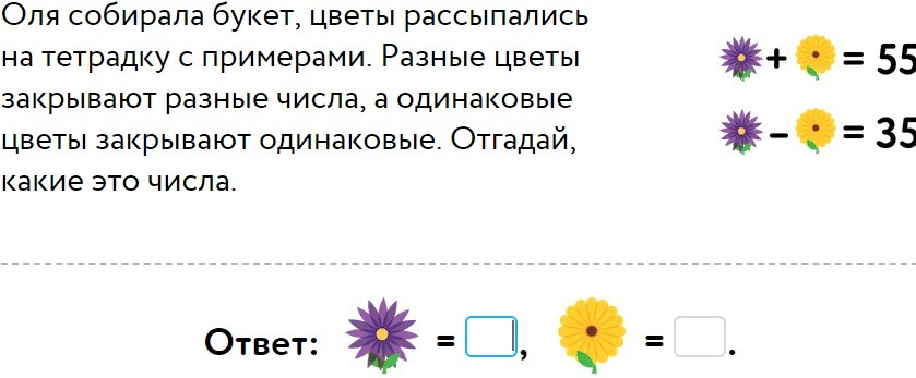 Недорогой букет цветы рассыпались на тетрадку с примерами, комнатные цветы