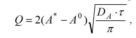В уравнении неизвестно только Dа, как его найти, если оно под корнем Как составить пропорцию? Загрузить png