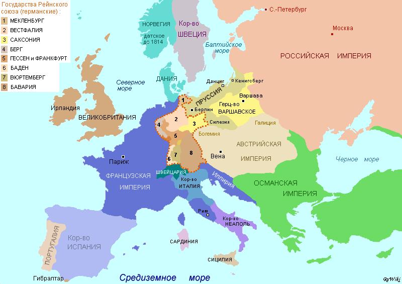 На какие из этих стран россия могла рассчитывать и почему 1812-1814