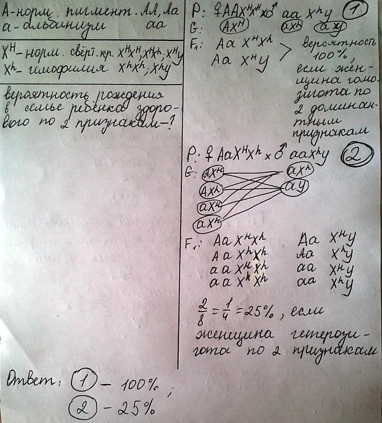 Решение задач на аутосомный рецессивный признак задачи по физике раздела электростатика с решениями