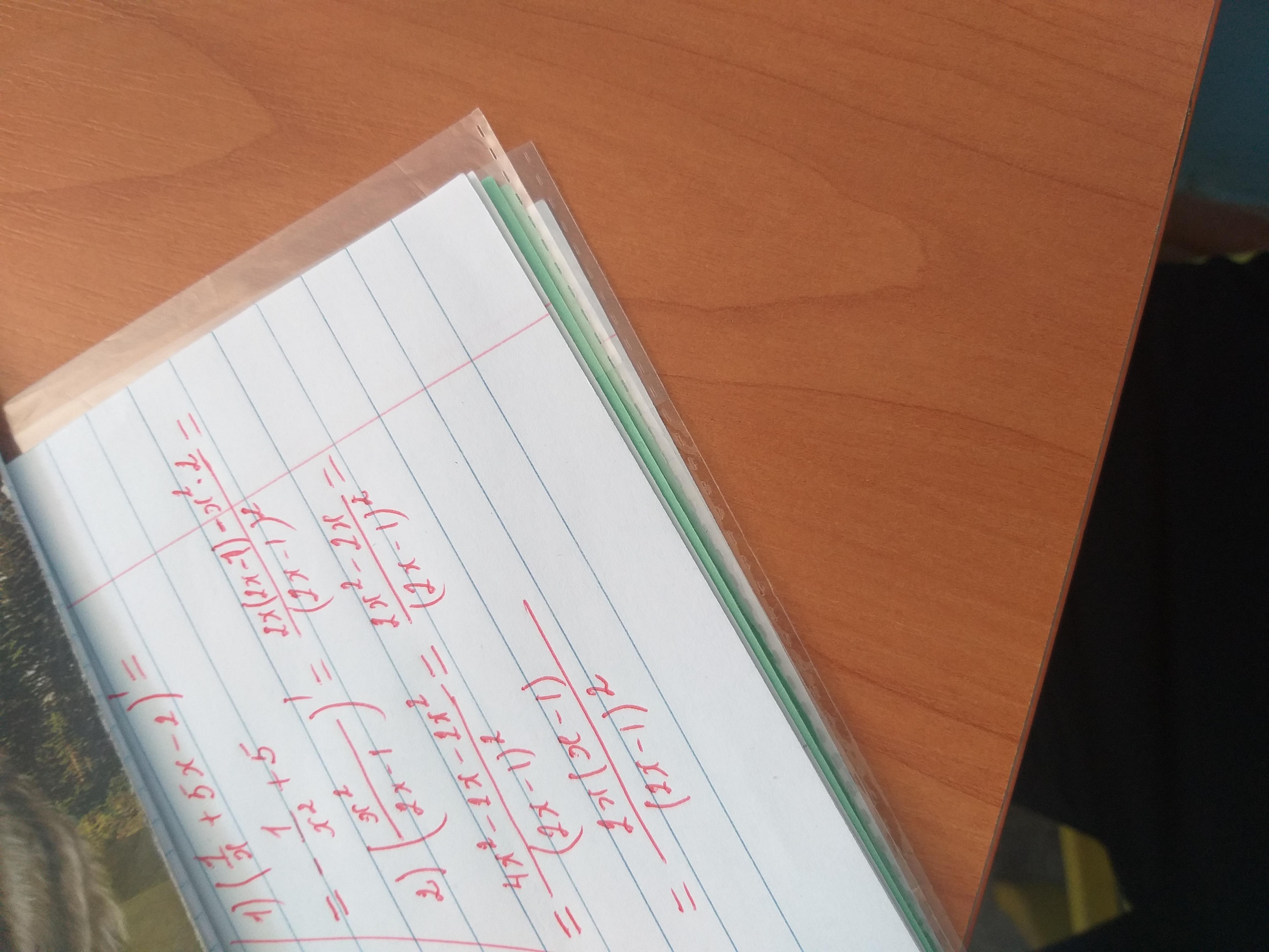 Найти производную  1) (1/х+5х-2) 2) (х^2/2х-1)