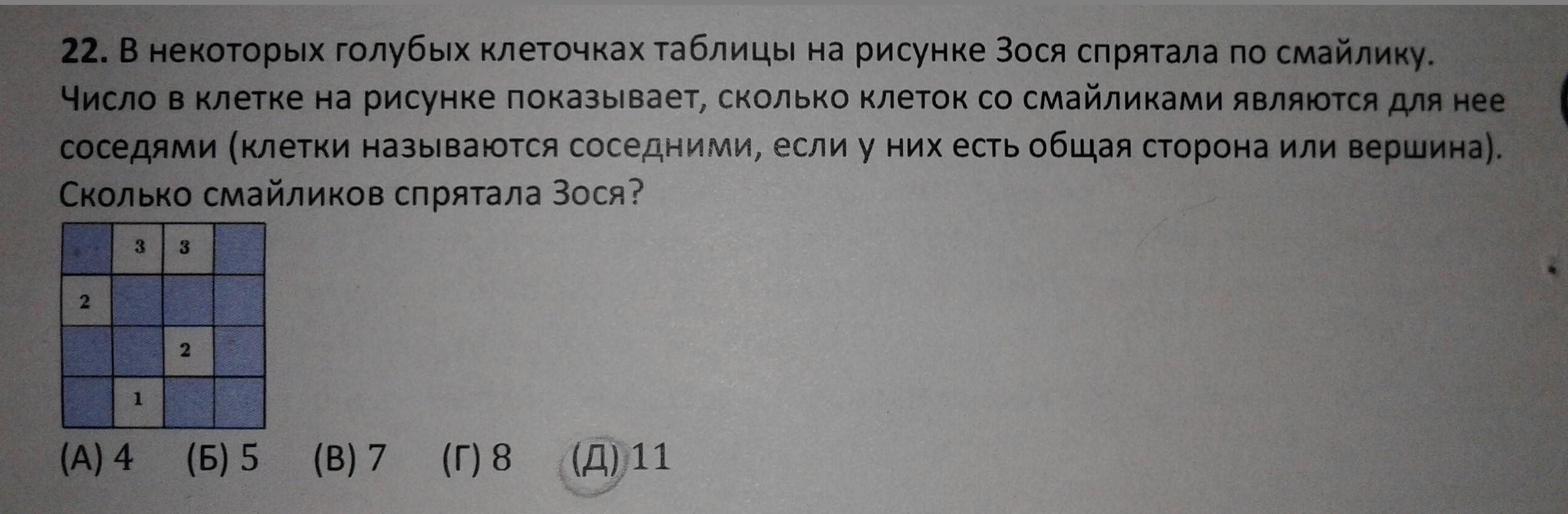 Тест по математике мой ответ11 хочу узнать правильно или нет?