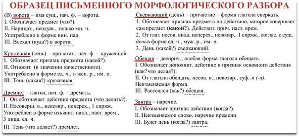 Как сделать орфографический разбор слова фото 252