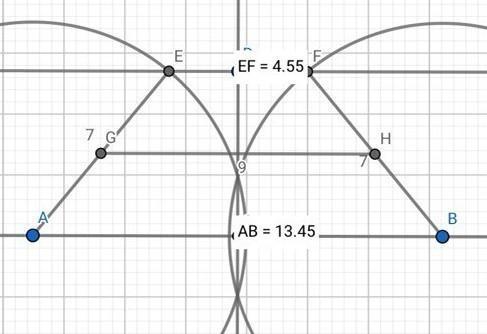 Периметр равнобедренной трапеции 32 см, а средняя