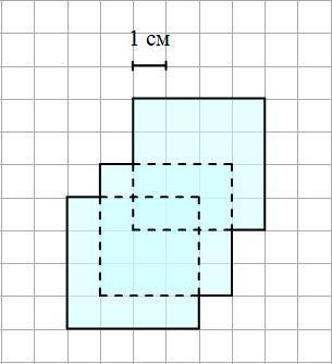 Нарисуйте три квадратика так чтобы получился