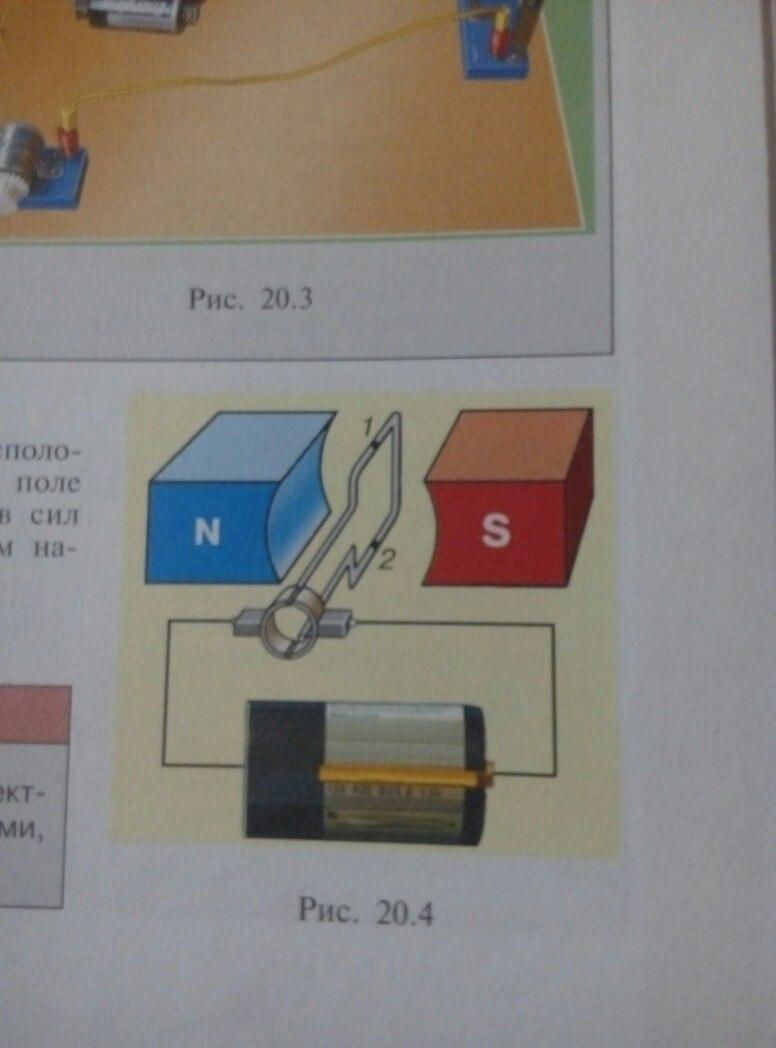 схема полей постоянного магнита