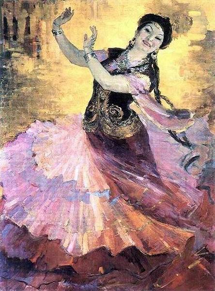 Сочинение по картине исмаиловой казахский вальс 5