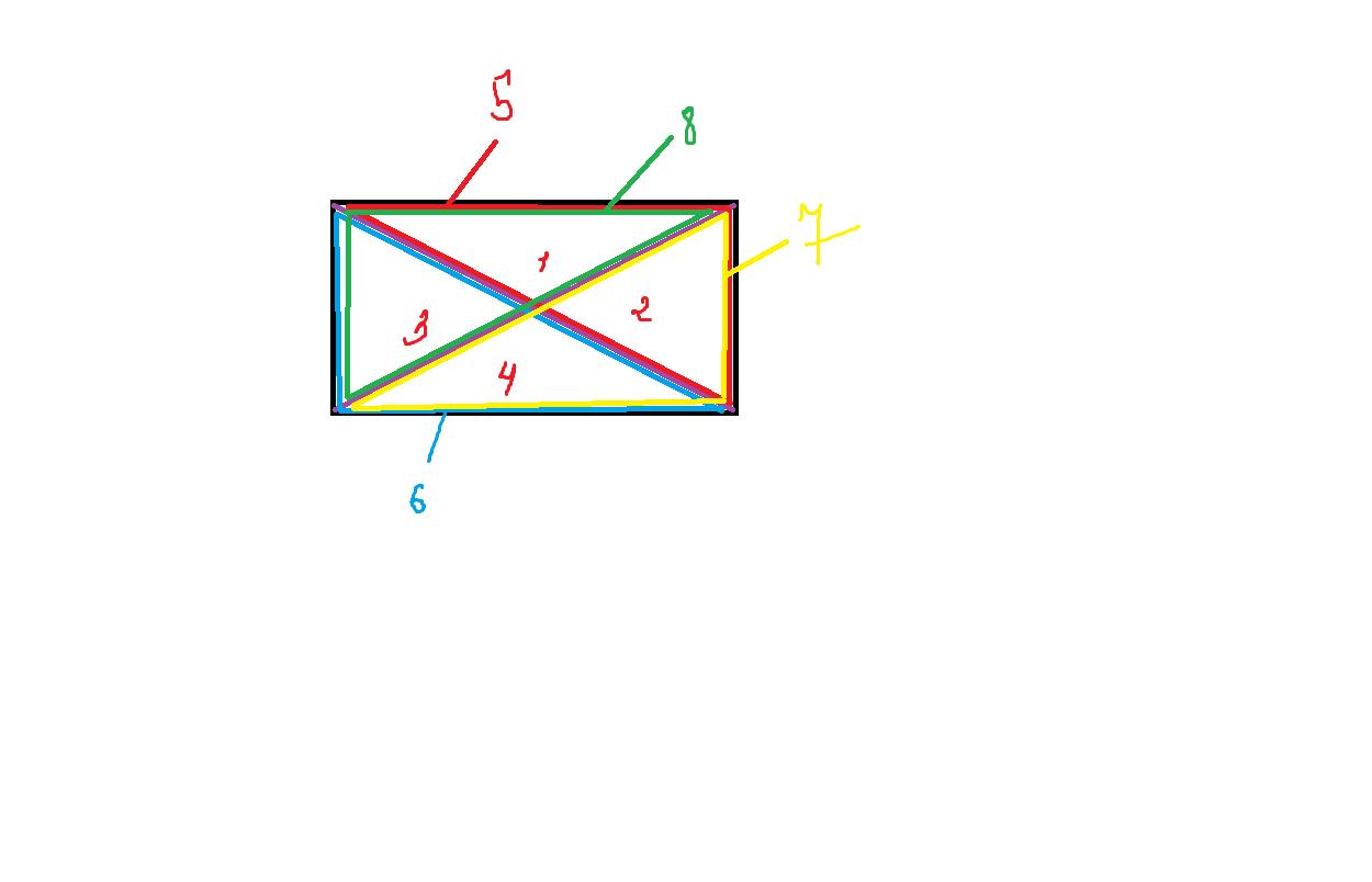 Как из прямоугольника сделать треугольник фото 390