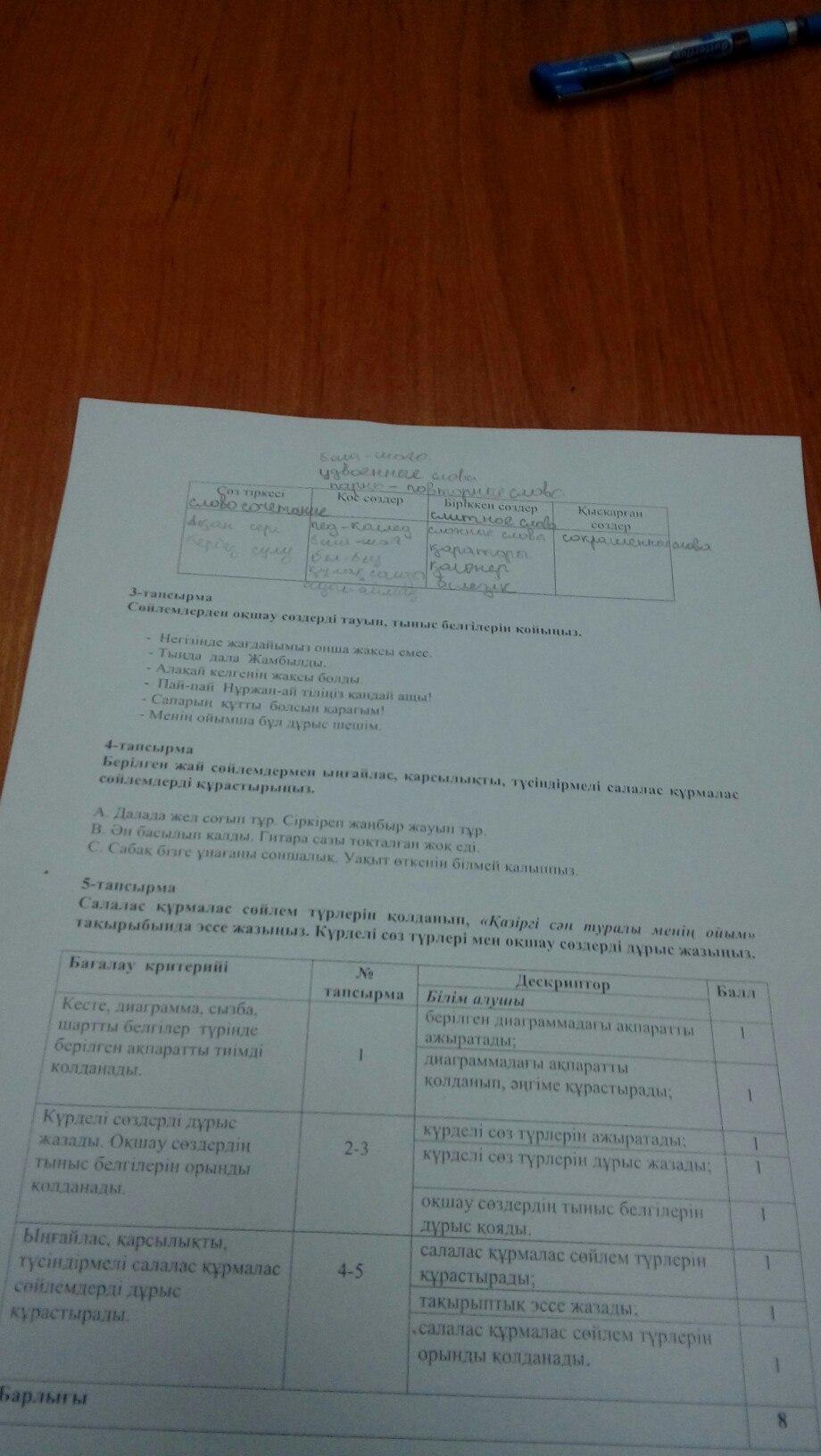 Гдз по казахскому языку за 7 класс