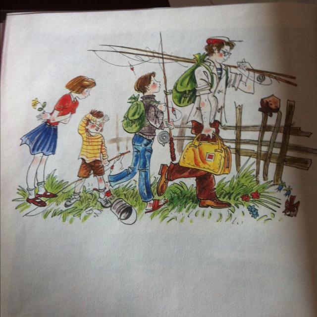 рассказ по картине не взяли на рыбалку от лица девочки