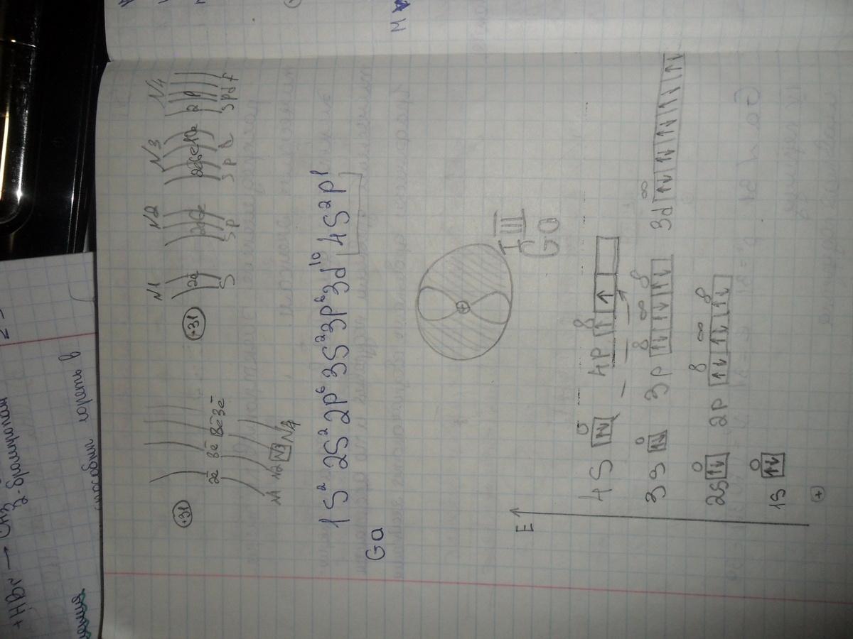 Составить схему строения атома йода