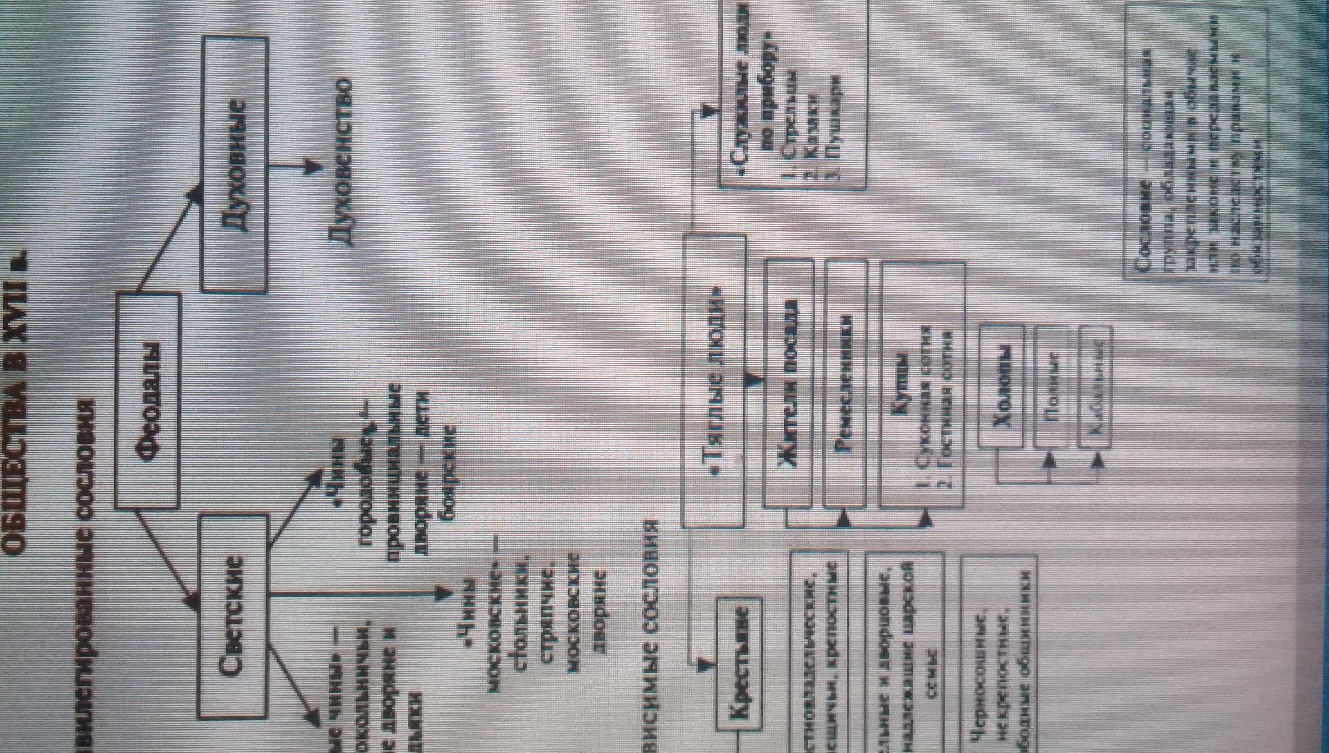 Схематически изобразите социальную структуру российского общества фото 542