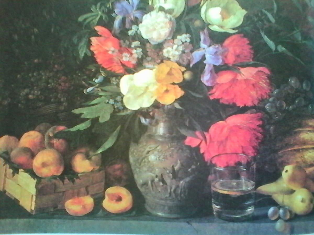 самом картина цветы и плоды хруцкий наклеек
