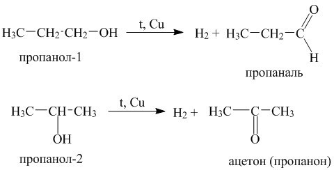 допишите уравнения реакций в структурном виде