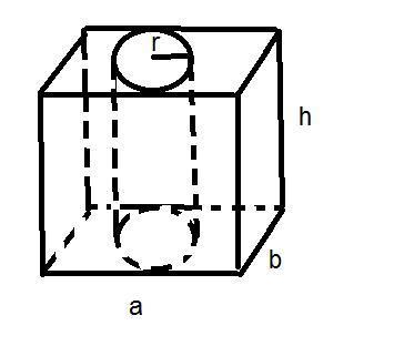 В основании призмы прямоугольник со сторонами 12 и