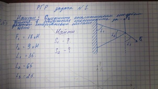 Определить усилия в стержнях решение задач решение задач на конденсатор 9 класс