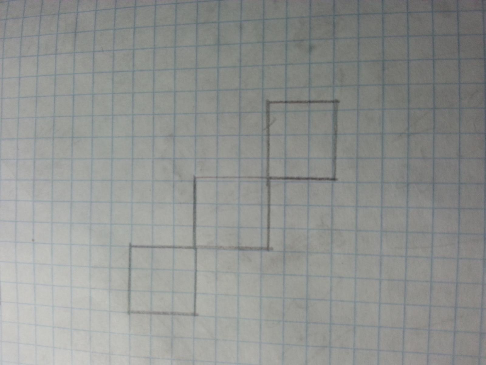 Если в рисунке тебя больше квадратов