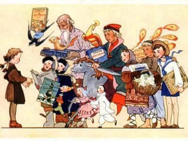 Рассмотрите старую открытку 60-х годов xx века. Что на ней изображено? Как вы думаете, к какому событию в жизни школьника её дарили? Обоснуйте свою точку зрения. На основе этого рисунка подберите и запишите 7 существительных с уменьшительно-ласкательными суффиксами -ек, -ик-(-чик-) помогите пожалуйста!!!!!!