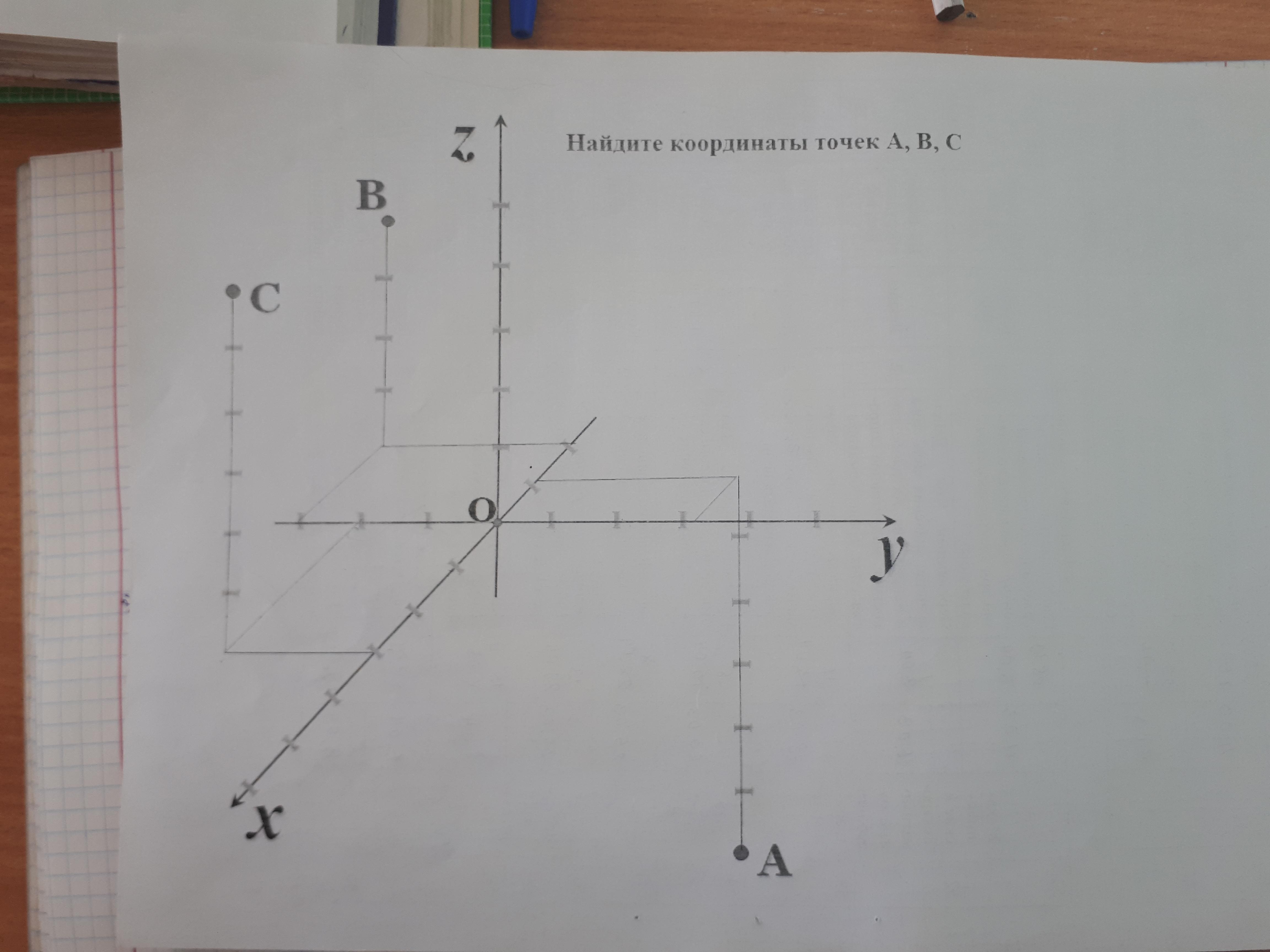 Ребят подскажите координаты точек
