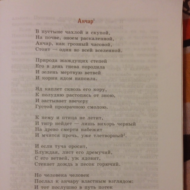 образец анализа стихотворения 8 класс