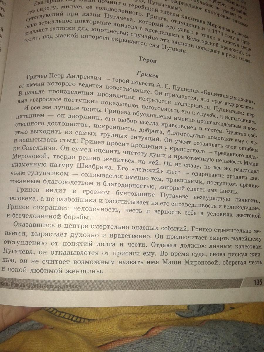 Почему пугачев не казнил петра гринева