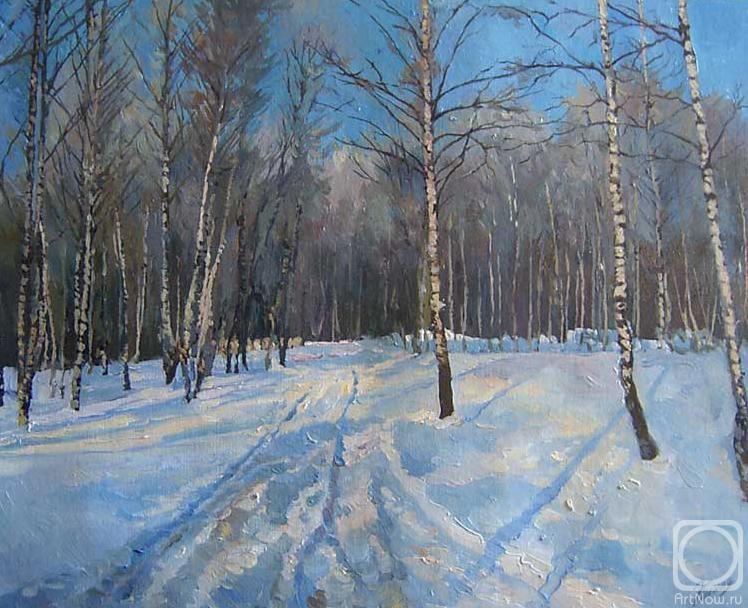 Сочинение по картине э.панова зима