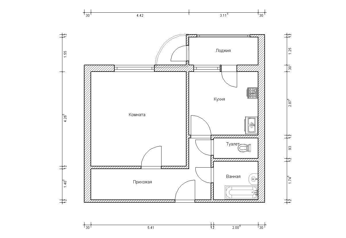 Как сделать план квартиры фото 129