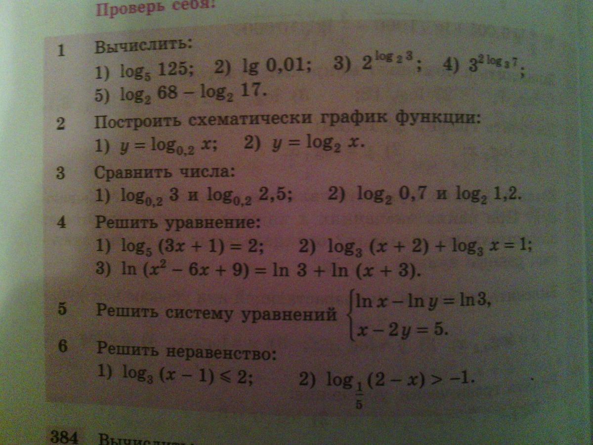 Гдз алгебра алимов 11 проверь себя