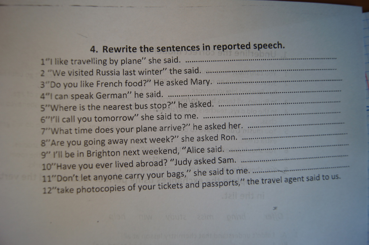 "reported speech exercises essay Wwwenglish-grammarat reported speech rs 1 change to reported speech 1 mary said:""i will play cards the day after tomorrow"" (mary informed memarry informed me that she would play cards the following day/the next day."