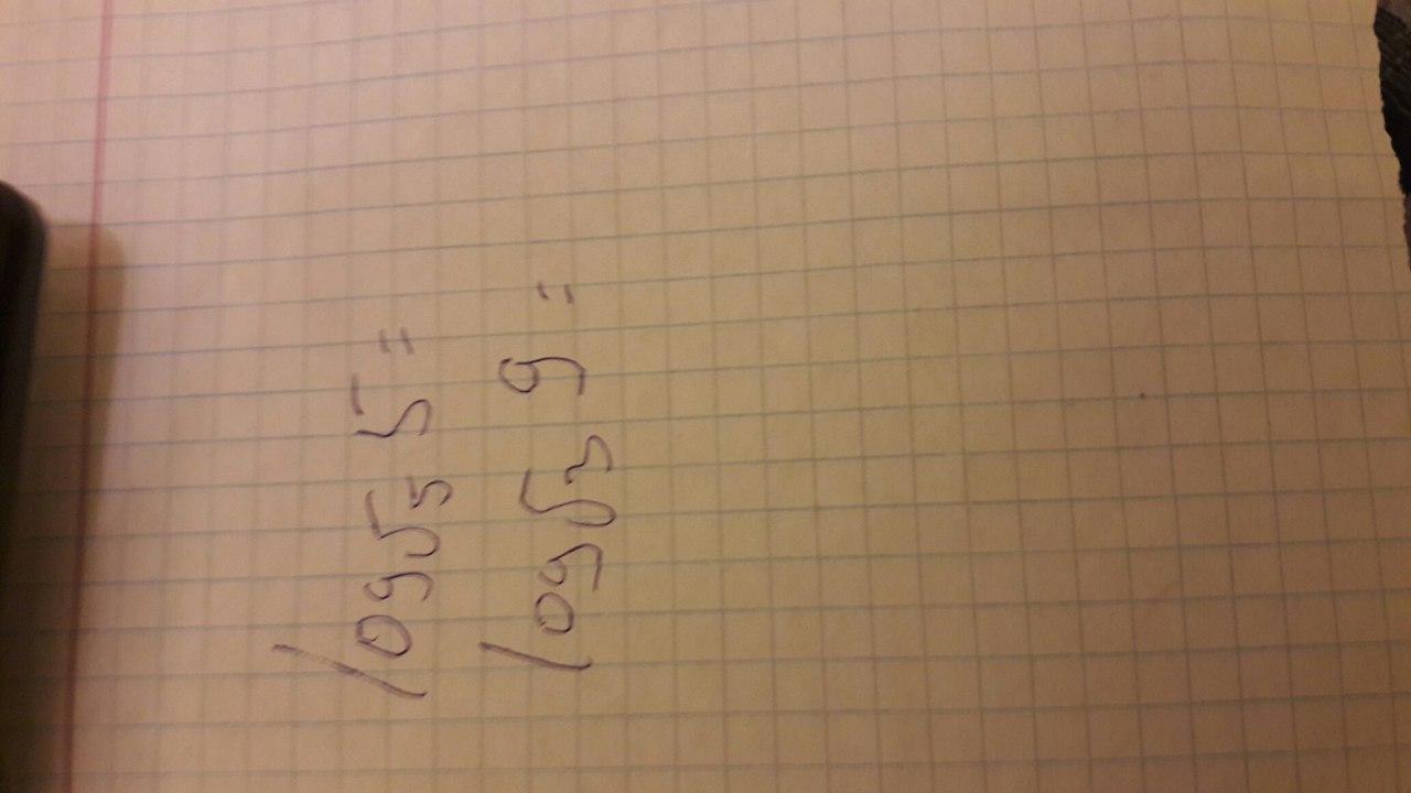Log√3 9=? log√5 5=?