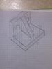 Виконайте технічні рисунки деталей за кресленням в прямокутних проекціях