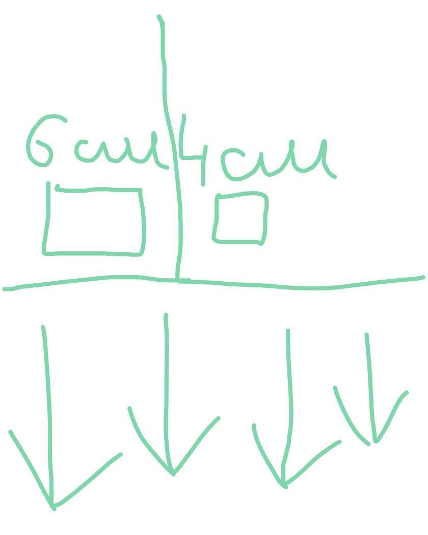 Площадь площадь первого квадрата больше площади