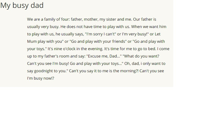 Dad перевод на русский язык