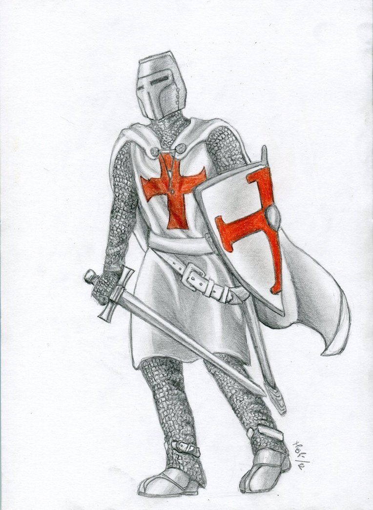 Рисунках и картинки с рыцарями