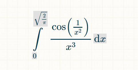Определить сходимость несобственных интегралов