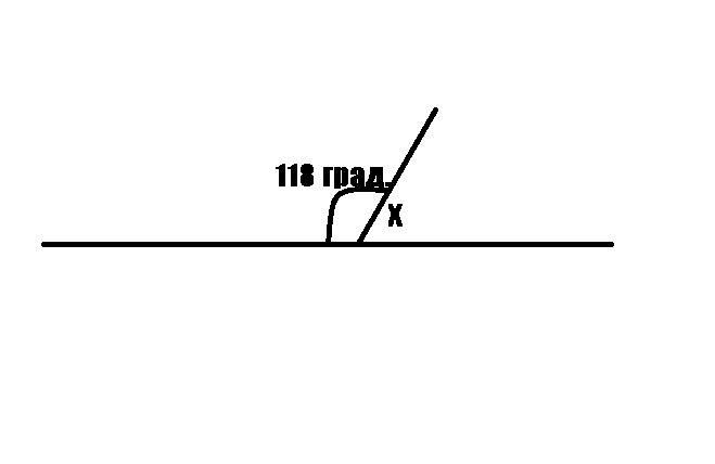 Найти величину угла X