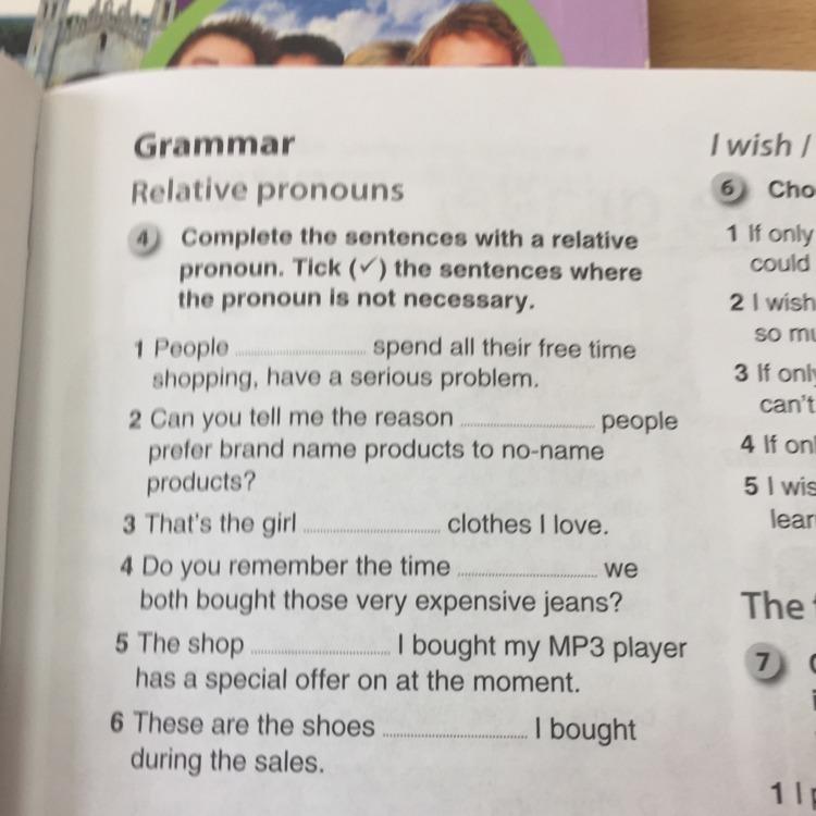 Relative Pronouns Exercises 2 GrammarBank