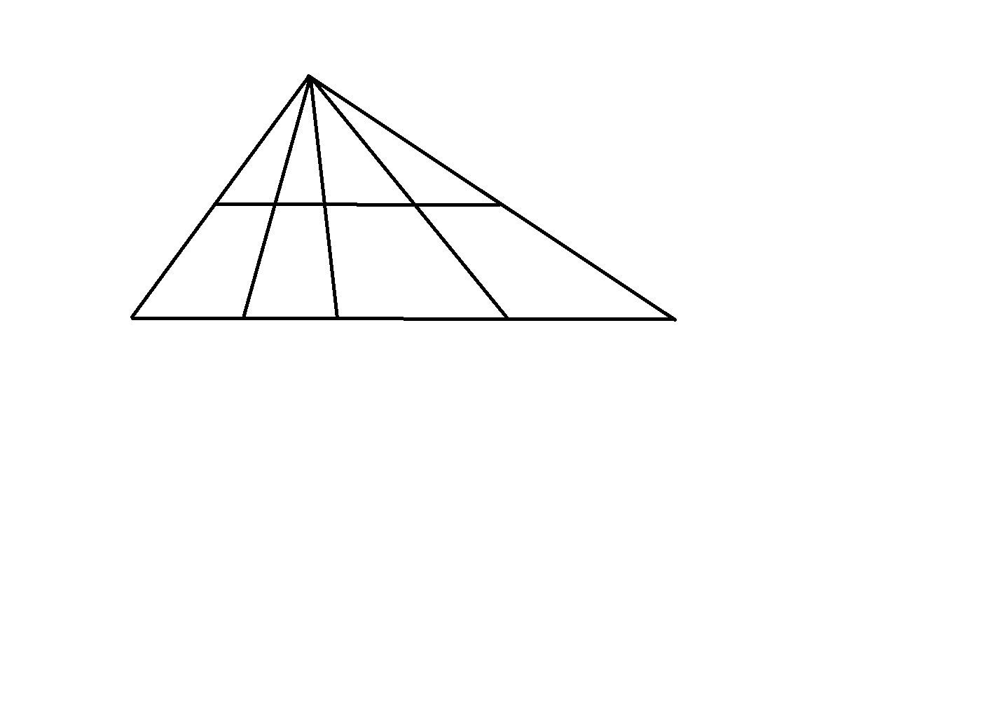 как оформить количество треугольников на картинке небольшого