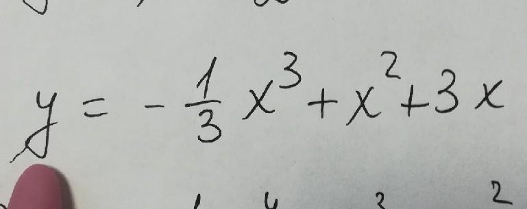 Помогите, пожалуйста, исследовать функцию