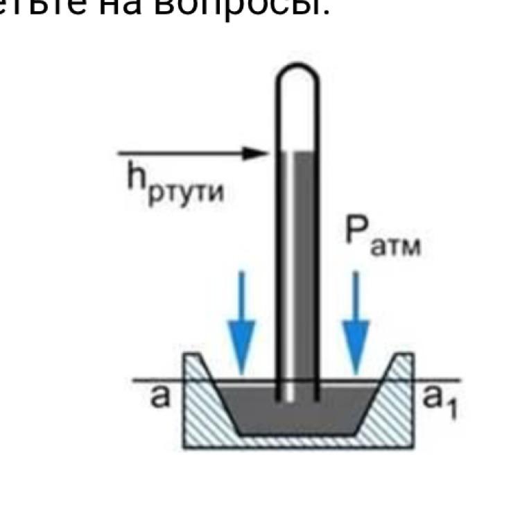 Почему для уравновешивания давления атмосферы высота которой достигает десятков