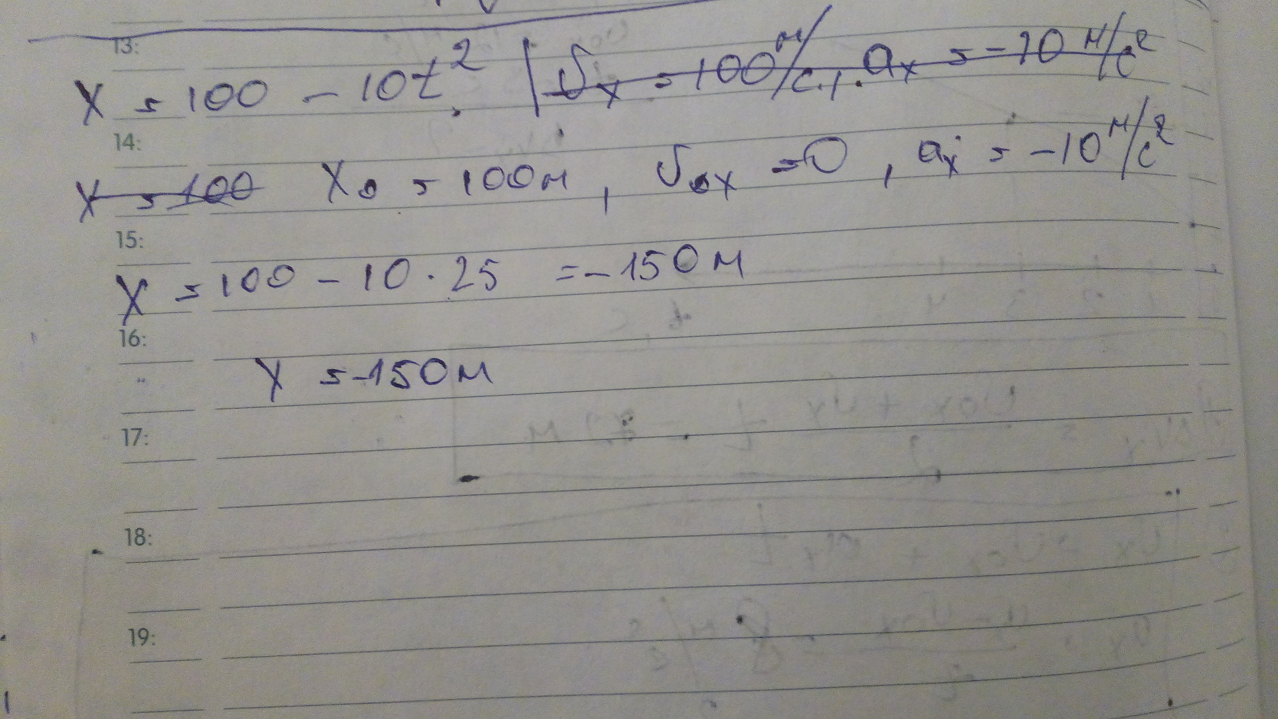 уравнение оси ox имеет вид